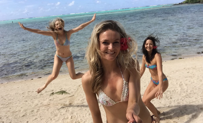 1 Three Girls On A Adventure In Paradise